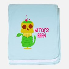 Witch's Brew baby blanket