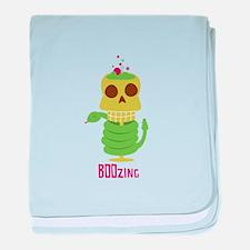 BOOzing baby blanket