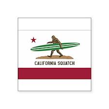California Squatch Sticker
