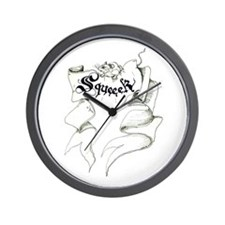Mouse Squeeek! Wall Clock