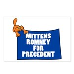 Mittens Romney for Precedent Postcards (Package of
