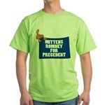 Mittens Romney for Precedent Green T-Shirt