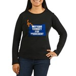 Mittens Romney for Precedent Women's Long Sleeve D