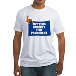 Mittens Romney for Precedent Fitted T-Shirt