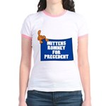 Mittens Romney for Precedent Jr. Ringer T-Shirt