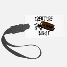 Creature Of The Night Luggage Tag