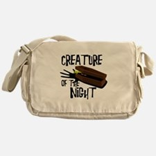 Creature Of The Night Messenger Bag