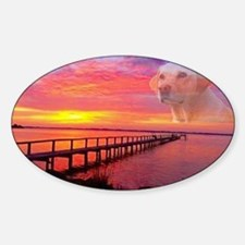 Blond Labrador Retriever Decal