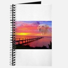 Blond Labrador Retriever Journal