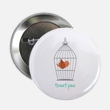 "Tweet Pea 2.25"" Button"