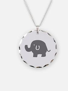Unique I love elephants Necklace