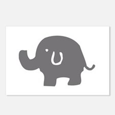 Cute Circus elephant Postcards (Package of 8)