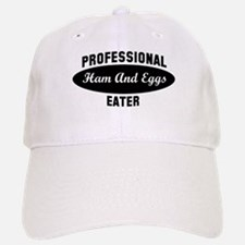 Pro Ham And Eggs eater Baseball Baseball Cap