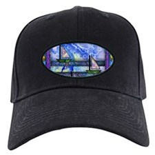Purple and Blue Quilt Baseball Hat
