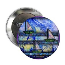 """Purple and Blue Quilt 2.25"""" Button (100 pack)"""