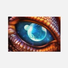 Dragon Eye Rectangle Magnet