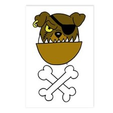 Scurvy Dog Pirate Postcards (Package of 8)