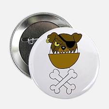 Scurvy Dog Pirate Button