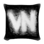 VN Logo Woven Throw Pillow