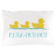Bath Time Duckies Pillow Case