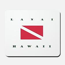 Lanai Hawaii Dive Mousepad