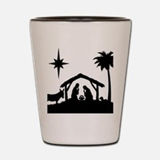 Nativity Scene Shot Glass