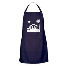 Nativity Scene Apron (dark)
