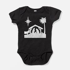 Nativity Scene Baby Bodysuit