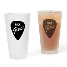 Pick Jesus Drinking Glass