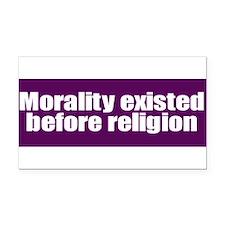 Unique Religion and beliefs Rectangle Car Magnet