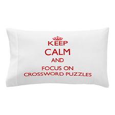 Funny Crossword Pillow Case