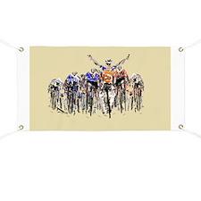 Cool Bicycle racing Banner