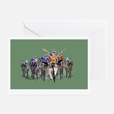 Cute Sport touring Greeting Card