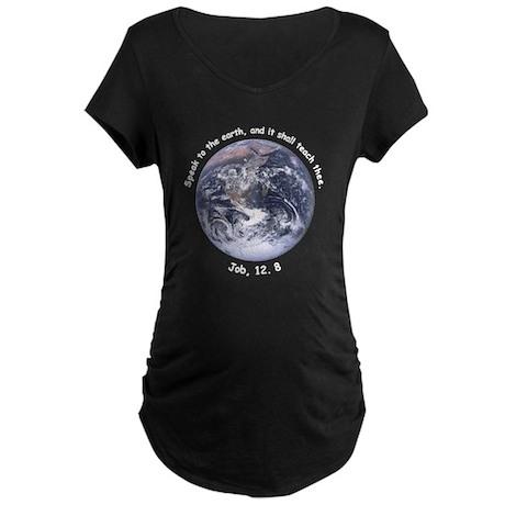 Save The Earth Maternity Dark T-Shirt