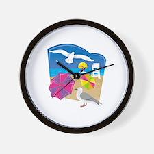 Unique Seagull Wall Clock