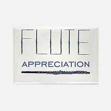 Flute Rectangle Magnet (10 pack)