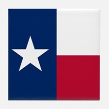Cute Texas flag Tile Coaster