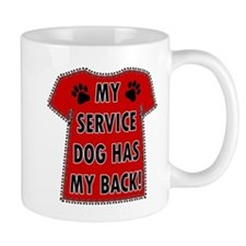 SERVICE HAS BACK Mugs