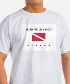 Prince William Sound Alaska Dive T-Shirt