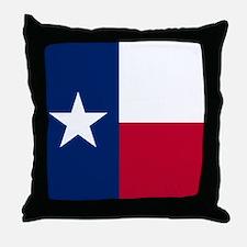 Cute Texas state flag Throw Pillow