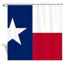 Cute Texas state flag Shower Curtain