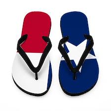 Unique State texas flag Flip Flops