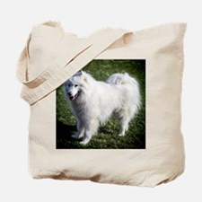 Happy Samoyed Tote Bag