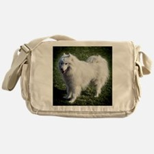 Happy Samoyed Messenger Bag