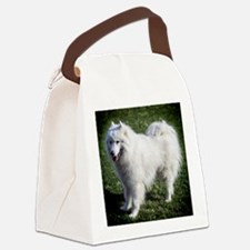 Happy Samoyed Canvas Lunch Bag