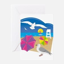 Everything's Beachy Greeting Cards