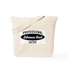 Pro Lebanese Food eater Tote Bag