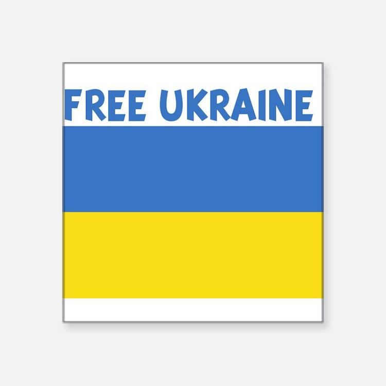 FREE_UKRAINE Sticker