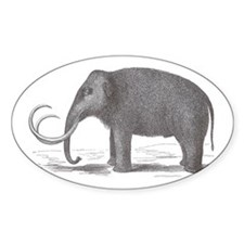 Wooly Mammoth Decal