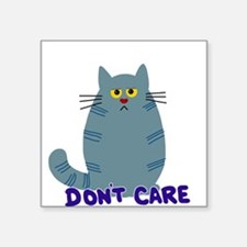 Dont Care Cat Sticker
